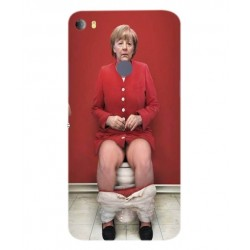 Alcatel Idol 5s Angela Merkel On The Toilet Cover