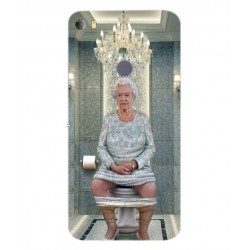 Alcatel Idol 5s Her Majesty Queen Elizabeth On The Toilet Cover