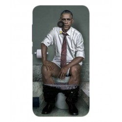 Funda Obama En El Baño Para Alcatel U5 HD