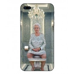 iPhone 8 Plus Her Majesty Queen Elizabeth On The Toilet Cover