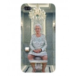 Asus Zenfone 4 Max Plus ZC554KL Her Majesty Queen Elizabeth On The Toilet Cover