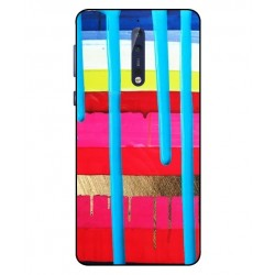 Nokia 8 Brushstrokes Cover