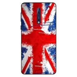 Nokia 8 UK Brush Cover