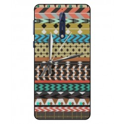 Nokia 8 Mexican Embroidery With Clock Cover