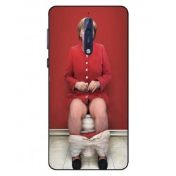 Nokia 8 Angela Merkel On The Toilet Cover