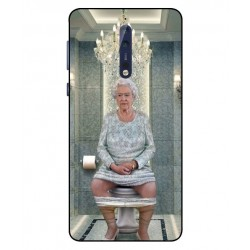 Nokia 8 Her Majesty Queen Elizabeth On The Toilet Cover