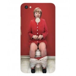 Xiaomi Redmi Note 5A Prime Angela Merkel On The Toilet Cover