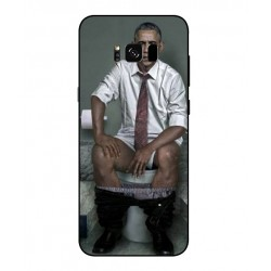 Samsung Galaxy S8 Obama On The Toilet Cover