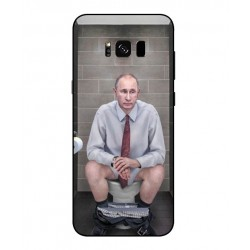 Samsung Galaxy S8 Vladimir Putin On The Toilet Cover