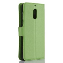 Nokia 6 Green Wallet Case