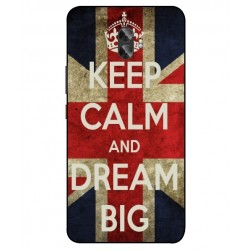 Keep Calm And Dream Big Hülle Für Gionee A1 Plus