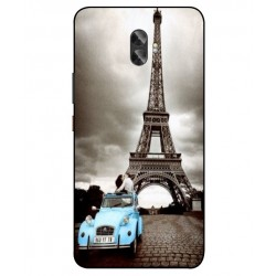 Gionee A1 Plus Vintage Eiffel Tower Case