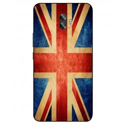 Funda Vintage UK Para Gionee A1 Plus
