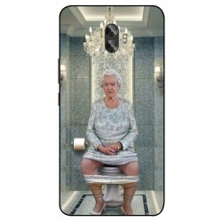 Gionee A1 Plus Her Majesty Queen Elizabeth On The Toilet Cover
