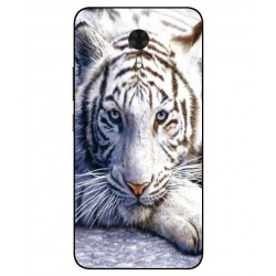 Coque Protection Tigre Blanc Pour Gionee A1
