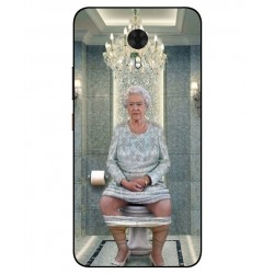 Gionee A1 Her Majesty Queen Elizabeth On The Toilet Cover