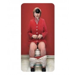 Wiko Tommy 2 Plus Angela Merkel On The Toilet Cover