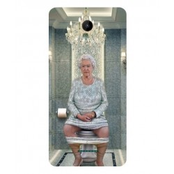 Wiko Tommy 2 Plus Her Majesty Queen Elizabeth On The Toilet Cover