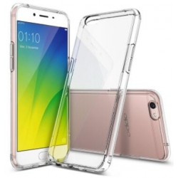 Coque De Protection En Silicone Transparent Pour Oppo A77