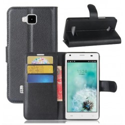 Cubot Echo Black Wallet Case