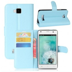 Cubot Echo Blue Wallet Case