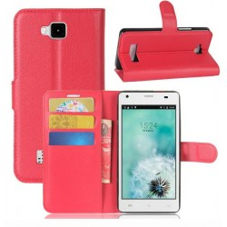 Cubot Echo Red Wallet Case