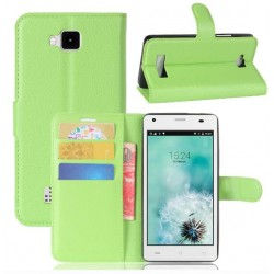 Cubot Echo Green Wallet Case
