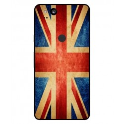 Funda Vintage UK Para Google Pixel 2 XL