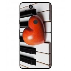 Funda I Love Piano Para Google Pixel 2 XL