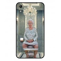 Wiko Lenny 4 Her Majesty Queen Elizabeth On The Toilet Cover