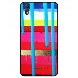 Wiko Lenny 4 Plus Brushstrokes Cover