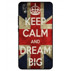 Wiko Lenny 4 Plus Keep Calm And Dream Big Cover