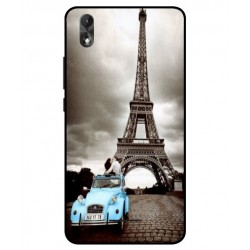 Wiko Lenny 4 Plus Vintage Eiffel Tower Case