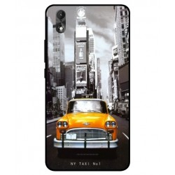 Coque New York Taxi Pour Wiko Lenny 4 Plus
