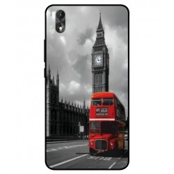 Wiko Lenny 4 Plus London Style Cover