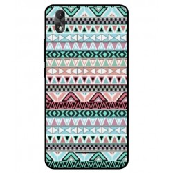 Wiko Lenny 4 Plus Mexican Embroidery Cover