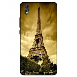 Wiko Lenny 4 Plus Eiffel Tower Case