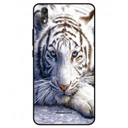 Wiko Lenny 4 Plus White Tiger Cover