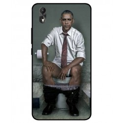 Wiko Lenny 4 Plus Obama On The Toilet Cover