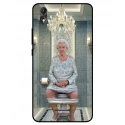 Wiko Lenny 4 Plus Her Majesty Queen Elizabeth On The Toilet Cover