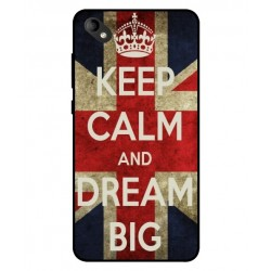 Coque Keep Calm And Dream Big Pour Wiko Sunny 2 Plus
