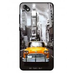 Coque New York Taxi Pour Wiko Sunny 2 Plus