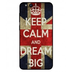 Coque Keep Calm And Dream Big Pour ZTE Tempo X