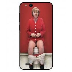 ZTE Tempo X Angela Merkel On The Toilet Cover