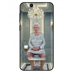 ZTE Tempo X Her Majesty Queen Elizabeth On The Toilet Cover