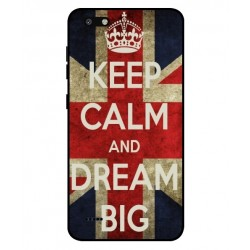 ZTE Blade Force Keep Calm And Dream Big Cover