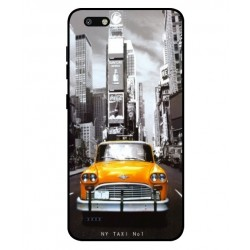 Coque New York Taxi Pour ZTE Blade Force