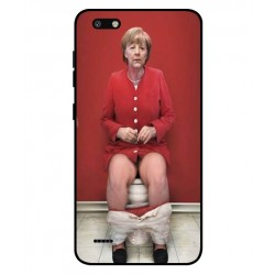 ZTE Blade Force Angela Merkel On The Toilet Cover
