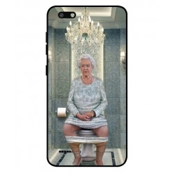 ZTE Blade Force Her Majesty Queen Elizabeth On The Toilet Cover