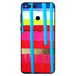 Huawei Honor 7X Brushstrokes Cover